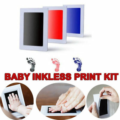 Antiviral Infection Inkless Hand & Foot Print Kit Newborn Baby Infant Keepsake #
