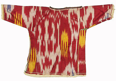 Orient Mädchen baby Ikat Seide Tracht kleid uzbekistan children silk dress 40