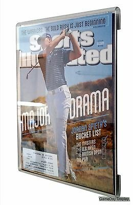 Wall Mount Sports Illustrated Magazine Display by GameDay Display Made in USA