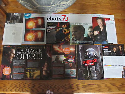 Benedict Cumberbatch French Us Clippings