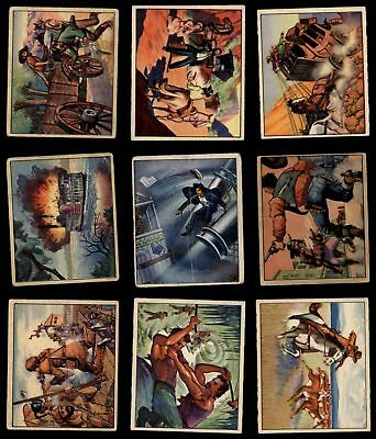 1949 Bowman Wild West Partial Complete Set VG+
