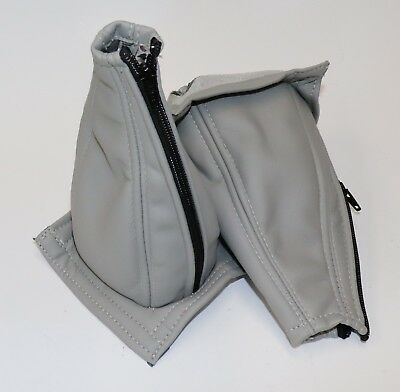 Pair (2) Vans RV6, RV7, RV9 Light Gray Vinyl Stick Boots, Lined and with Zipper