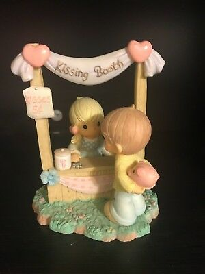 Precious Moments Kissing Booth Figurine *