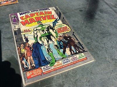 Marvel Superheroes #12 First Appearance Captain Marvel And Drax Pre Guardians