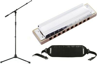 Hohner 1896BX-A + On-Stage Stands MS9701TB+ + Hohner HB-6 - Value Bundle