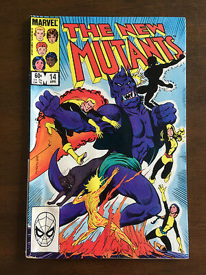 The New Mutants # 14 Good 1St Appearance Of Magik Illyana Rasputin Marvel