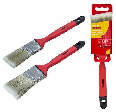 No Bristle Loss Angled Paint Brush Soft Handled 38mm 50mm Contractor Decorate
