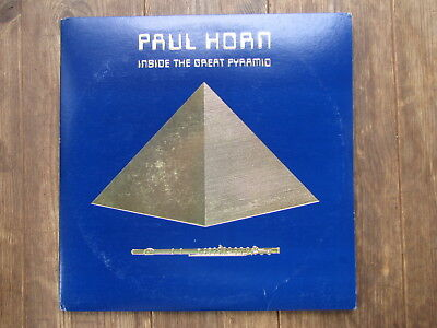 """DLP - PAUL HORN - INSIDE THE GREAT PYRAMID different cover US """"TOPZUSTAND!"""""""
