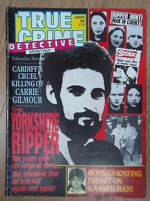 True Crime Monthly January 1991  The Yorkshire Ripper Peter Sutcliffe
