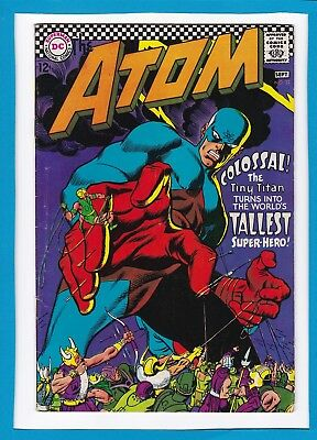 """The Atom #32_Sept 1967_Fine/very Fine_""""colossal...the Tint Titan""""_Silver Age Dc!"""