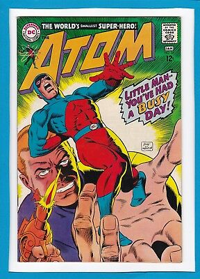 The Atom #34_January 1968_Very Fine+_The World's Smallest Super-Hero_Silver Age!