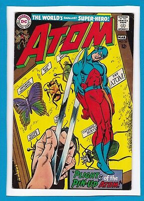 """The Atom #35_March 1968_Very Fine_""""plight Of The Pin-Up Atom""""_Silver Age Dc!"""