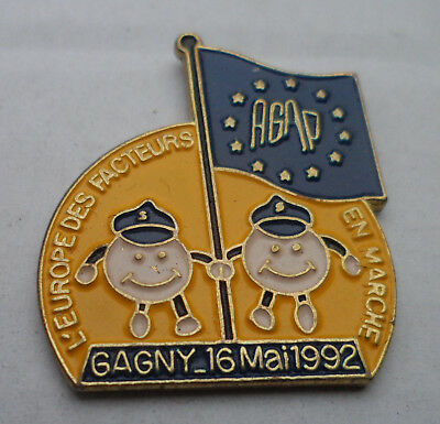 Pin Post Frankreich France Association Gabinienne des Agents Postiers AGAP