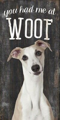 Whippet Sign - You Had me at WOOF 5x10