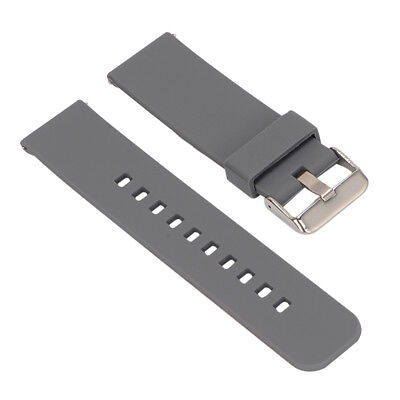 Replacement Silicone Strap bracelet WatchBand for Garmin Fenix Chronos Gray