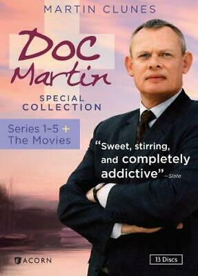 Doc Martin Special Collection: Series 1-5 plus the Movies [DVD] USED!
