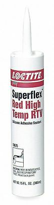 Loctite 59675 Superflex High Temp RTV, Adhesive Sealants, 300 mL Cartridge