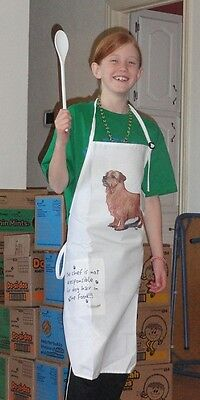 Norfolk Terrier Full Size Apron No Longer Available Made in USA LAST ONE!