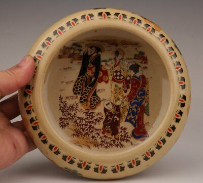 Porcelain Japanese Style Geisha Travel Decorated With Pots Pans