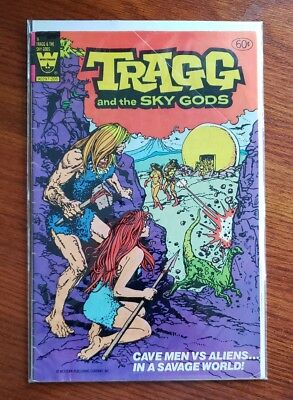 Tragg And The Sky Gods #9 (Copper Age Blow Out Sale) Whitman/ Vg/fn+