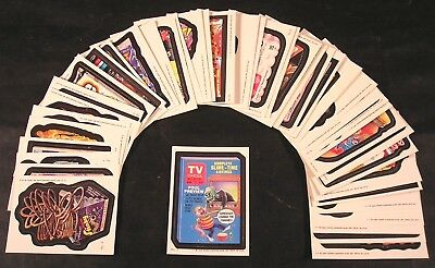 1985 Topps Wacky Packages  COMPLETE SERIES SET 44 of 44 stickers ex/nm w/wrapper
