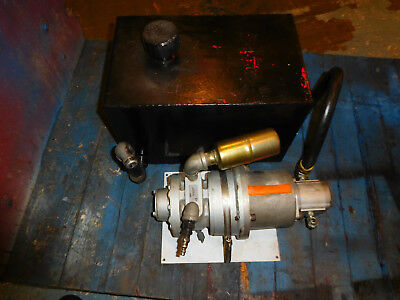 Gast 8AMNRV32A Air Motor Hydraulic Power Unit