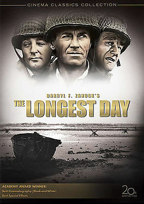 The Longest Day (DVD, 2009, 2-Disc) DISCS ONLY NO CASE NO ART UNUSED CONDITION