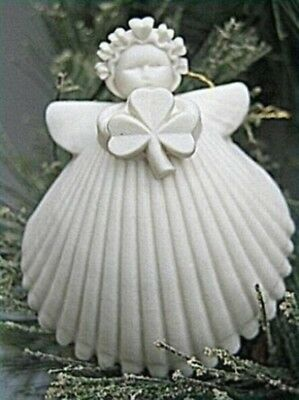 "Margaret Furlong 2"" Shamrock Angel Ornament BRAND NEW MIB Free Shipping"