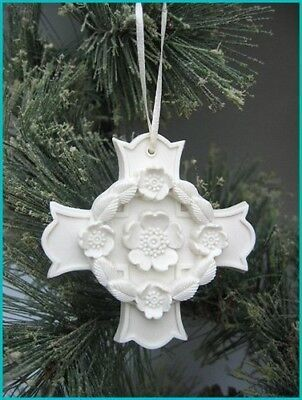 Margaret Furlong Blooms Of Hope Cross Ornament Brand New In Box Free Shipping