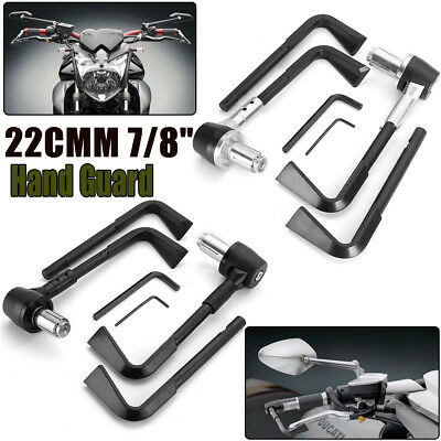 7/8'' Universal Motorcycle Brake Clutch Lever Protector Protection Hand Guards