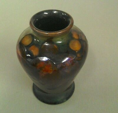 Small Moorcroft Vase 9.5cms High