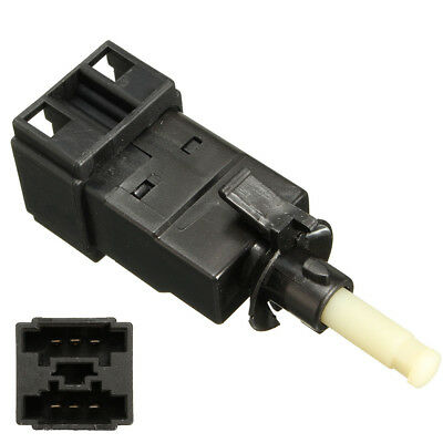 Brake Stop Pedal Light Switch 6 pin Spade Connector For Mercedes Benz 0015456409