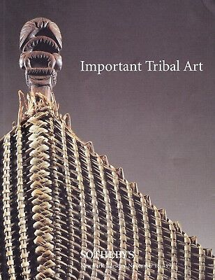 IMPORTANT TRIBAL ART: Sotheby's N.Y. 97 +results