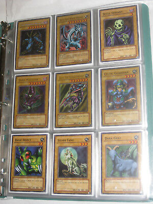 YuGiOh Complete Set - Legend of Blue Eyes White Dragon (LOB-E) Full European Set