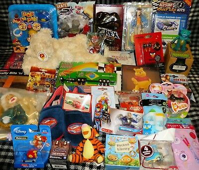 JOB LOT OF 30 VARIOUS TOYS - suitable for market trader / car booter - LOT D