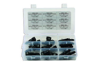 Assorted Fuel Line Quick Connector Kit 24 Pieces 34029