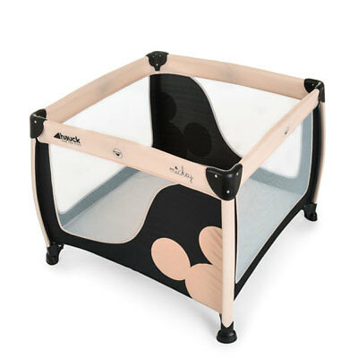 Hauck Disney Play N Relax SQ Travel Cot, Mickey Classic