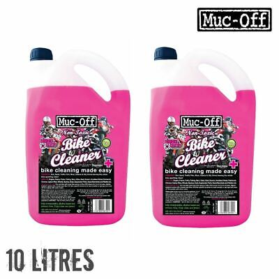 Muc Off Nano Tech Bike Cleaner 10 Litre Multi Pack 5L x2