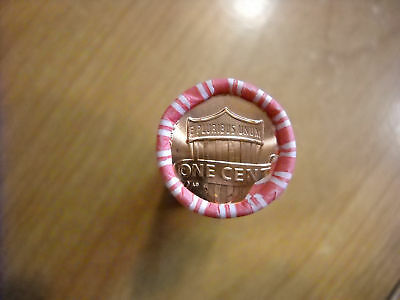 1 Roll of 2010 P Lincoln Shield Cents (50 Coins)