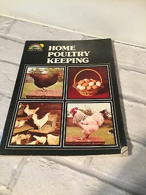 1976 Home Poultry keeping Book