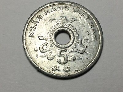 Vietnam People's Revolutionary Government KM#A10 1975 5 Xu coin nice condition
