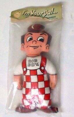 "Vintage 1960's BIG BOY Cloth Doll Toy Sealed New In Package NOS 16"" Rare"