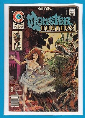 Monster Hunters #5_April 1976_Very Good+_Bronze Age Charlton Comics!