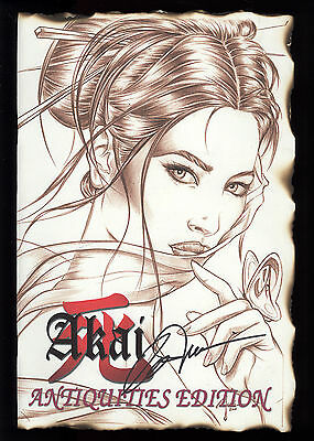 Shi: Akai (2001) #1 Antiquities Edition Signed by William (Billy) Tucci #133 NM