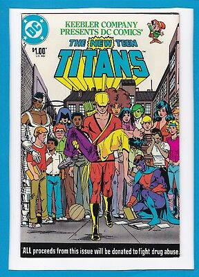 The New Teen Titans_One Shot_1983_Vf_Keebler Company Drug Awareness Issue!