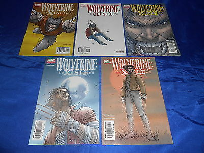 Wolverine: Xisle (2003) #1-5 First Print Bruce Jones Complete Mini Series VF/NM