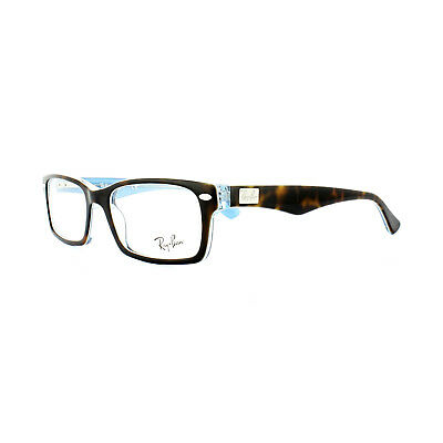 73756f5896d89 Ray-Ban Glasses Frames 5206 5023 Havana on Transparent Azure 52mm