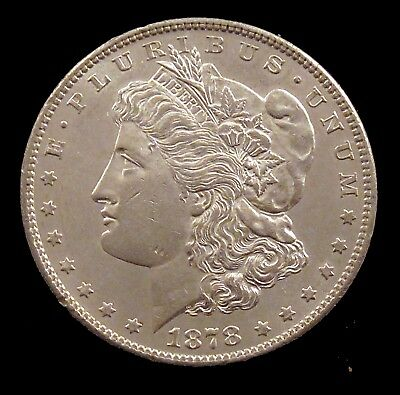 1878-S Uncirculated Details (cleaned) Morgan Silver Dollar - md79