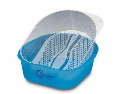 Belava Pro Salon Pedicure Starter Kit Bowl Blue With 25 Replacement Liners