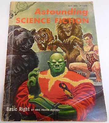 Astounding Science Fiction – US Digest – April 1958 – Vol.61 No.2 - Russell